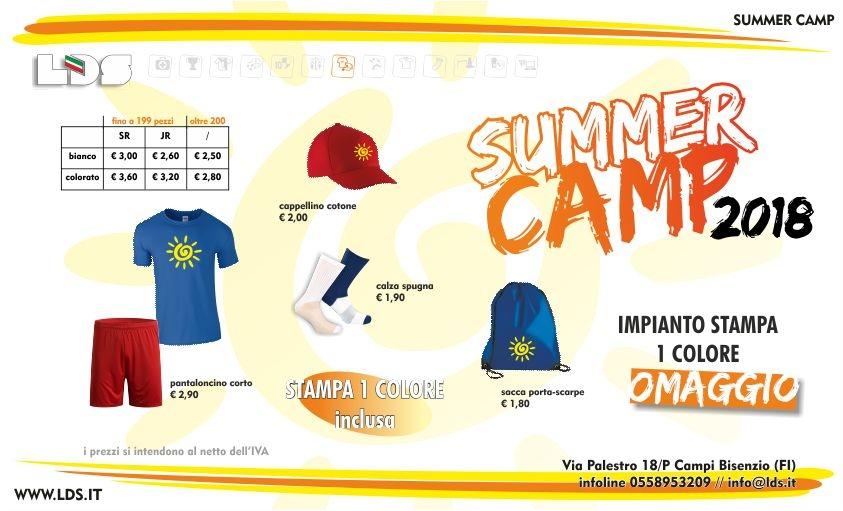 brand new 02e40 ac0dc 2018** Offerte fornitura abbigliamento per Summer Camp